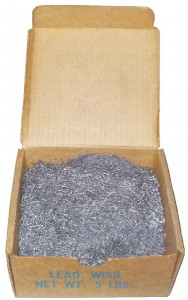 LEAD ROD-WIRE-WOOL